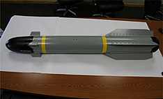 Custom Manufacturing of Dummy Missiles for the Military Industry